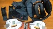 AraiヘルメットRX7の内装